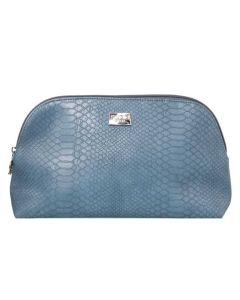 Gillian Jones Cosmetic Bag Blue Snake Art: 10742-13