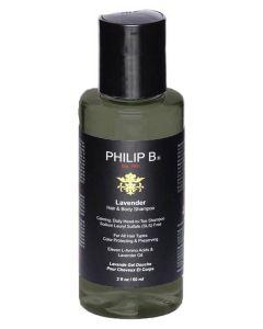 Philip B Lavender Hair & Body Shampoo (U) 60 ml