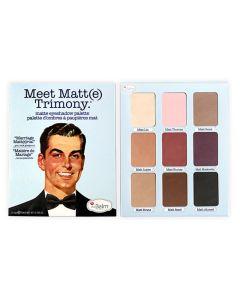 The Balm Meet Matte Trimony Eyeshadow Palette