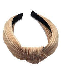 Everneed hårbøjle Daniella Plissé - Nude