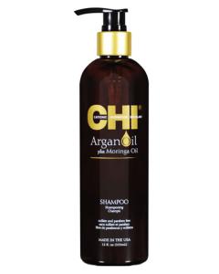Chi Argan Oil, Moringa Oil Shampoo 355 ml