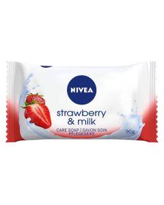 Nivea Strawberry & Milk Hånd- og Kropssæbe