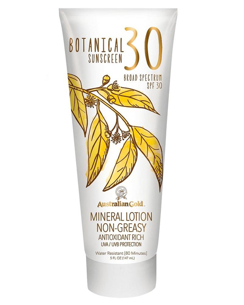 Australian Gold Botanical Sunscreen Mineral Lotion Non-Greasy SPF 30  147 ml