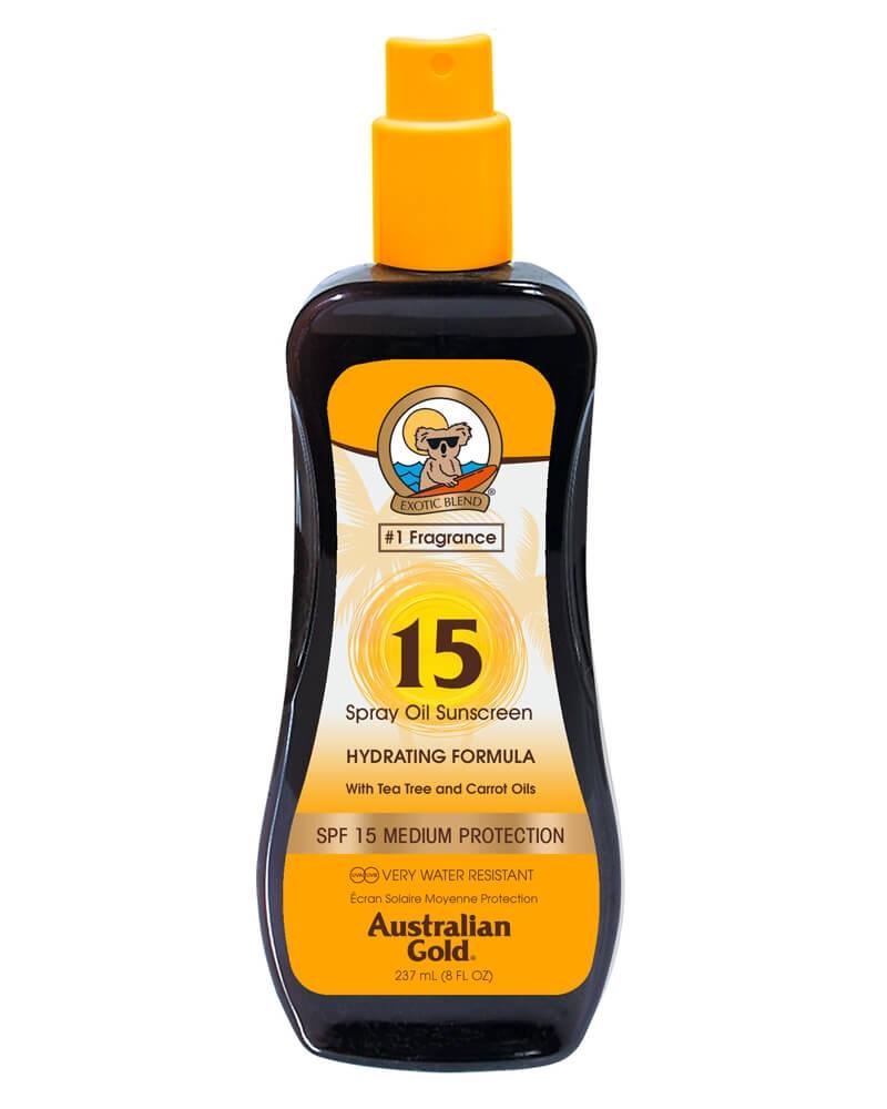Australian Gold SprayOil Sunscreen Carrot Oil Formula SPF 15 237 ml